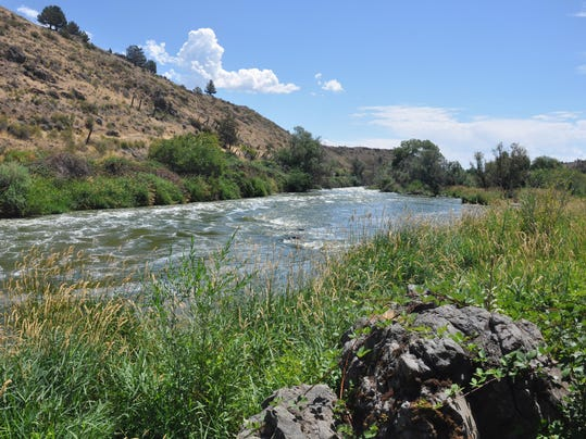 Klamath Falls - Link River nature trail
