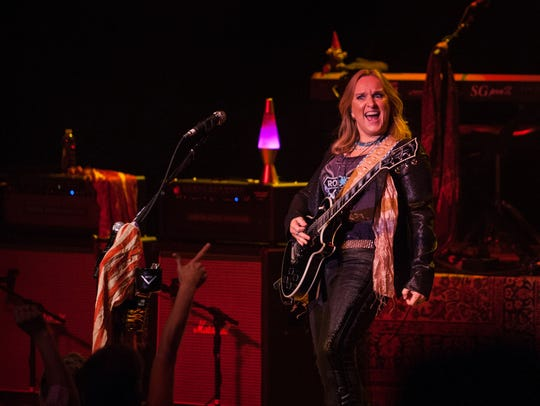 Melissa Etheridge at The Grand in 2013, hours after
