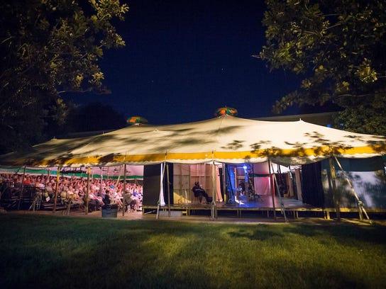 Tent Theatre at MSU