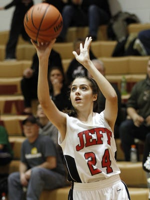 Allie Eavey is one of six juniors on a Lafayette Jeff team without a senior.