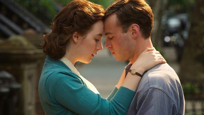 "Saoirse Ronana is mesmerizing as an Irish immigrant who falls in love with an Italian-American New Yorker in ""Brooklyn."""