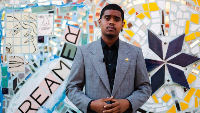 Keith James, 21, wants to run for mayor of Wilmington in 2020. But first, he has to change the law that requires candidates be at least 30 years old.