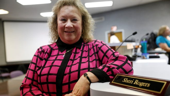 Aztec City Commission accepted Sheri Rogers' resignation Tuesday during a meeting at City Hall.