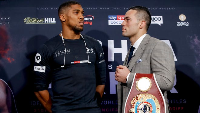 The showdown Saturday between Anthony Joshua and Joseph Parker could help return boxing's heavyweight championship to its traditional status as the most important title in all of sports.