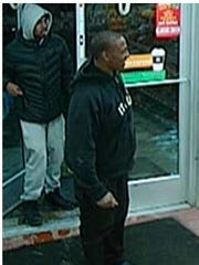 Police have not been able to identify two men seen