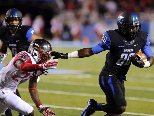 MTSU's Ed'Marques Batties will start at wide receiver,
