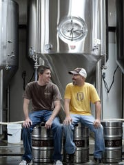 Andrew Watts and Don Richardson opened Quest Brewing in an old office building near the Greenville Downtown Airport that was once used by as a paint warehouse and a cell phone office.