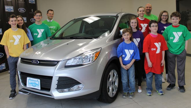 Maritime Ford and Bank First National have sponsored a two-year lease to a 2016 Ford Escape in support of the YMCA annual campaign.