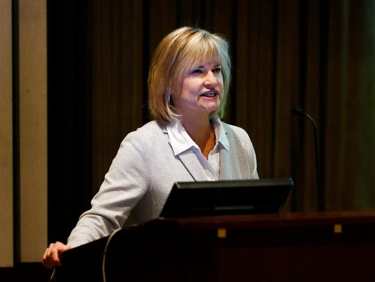 Laurie Becker, of Morris County Department of Human