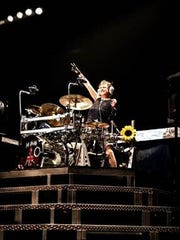 Rick Allen: Drums for Peace collection will be on display