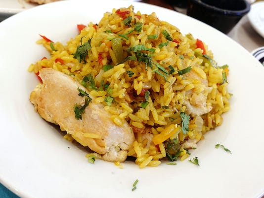 Arroz con pollo at The Latin Kitchen