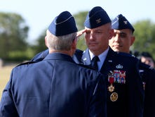 Col. Michael Downs bids farewell to San Angelo