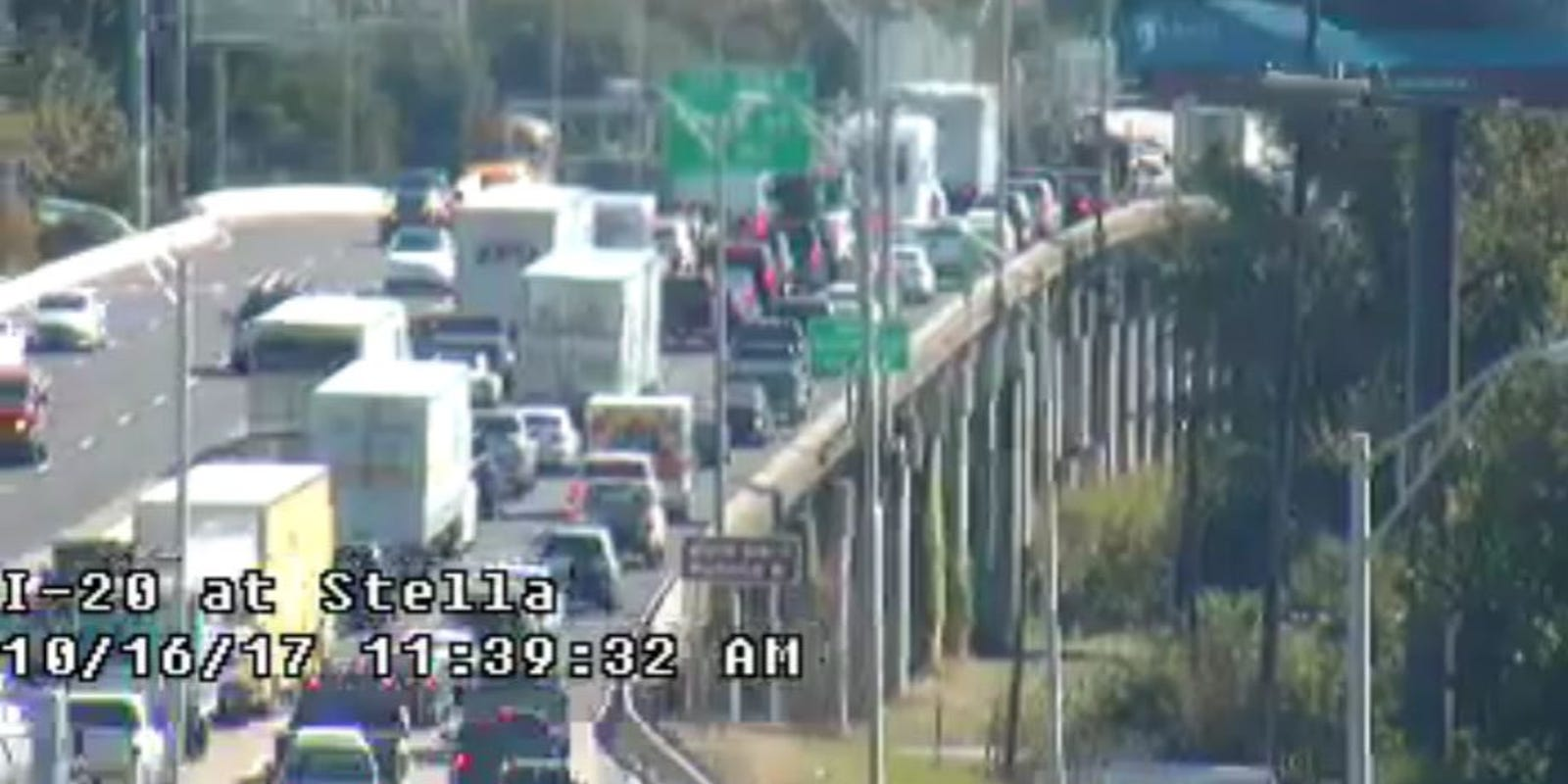 Update: Traffic flowing on I-20 in West Monroe after morning
