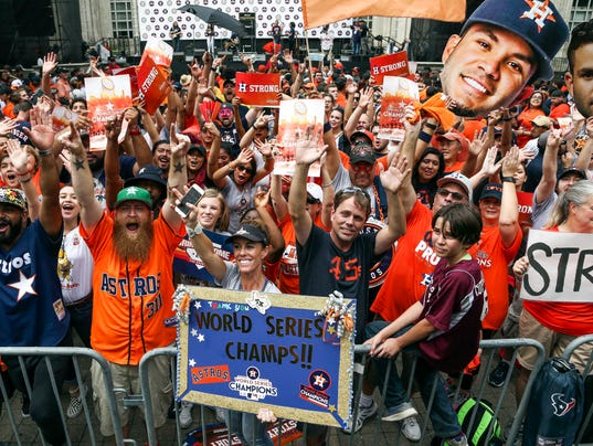 MLB: Houston Astros-Championship Parade