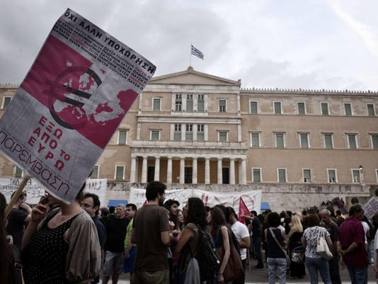 GREECE-POLITICS-ECONOMY-PROTEST