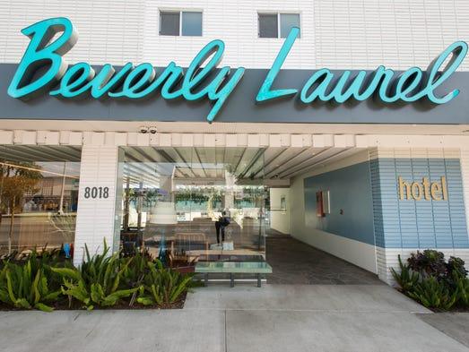 Los angeles hotels 10 retro properties for Beverly laurel motor hotel bed bugs
