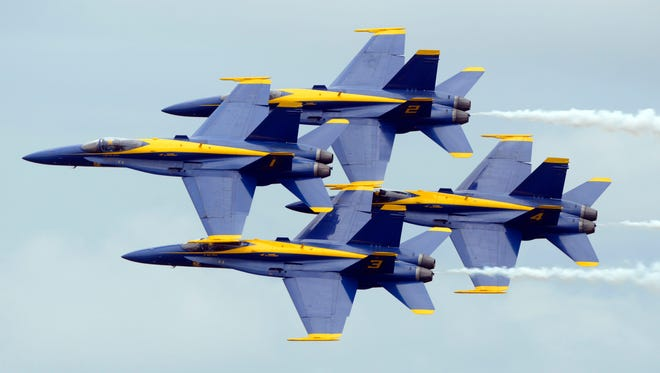 The Blue Angels will be answering public questions at a forum July 11 at Plaza De Luna in downtown Pensacola.