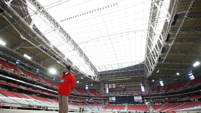 In the fall, University of Phoenix Stadium installed LED lights, which use less energy and cut down on costs. The Super Bowl onFeb. 1 will be the first ever played in a dome illuminated by LED lights.