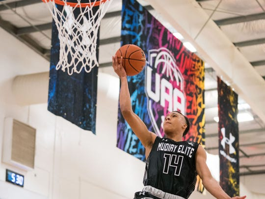 rj hampton Photo: Kelly Kline/Alyssa Trofort, Under Armour