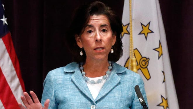 Governor Gina Raimondo.