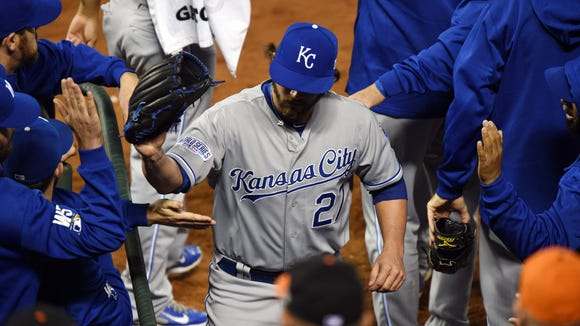 Brandon Finnegan was the first player to ever pitch in the College World Series and the World Series in the same season.