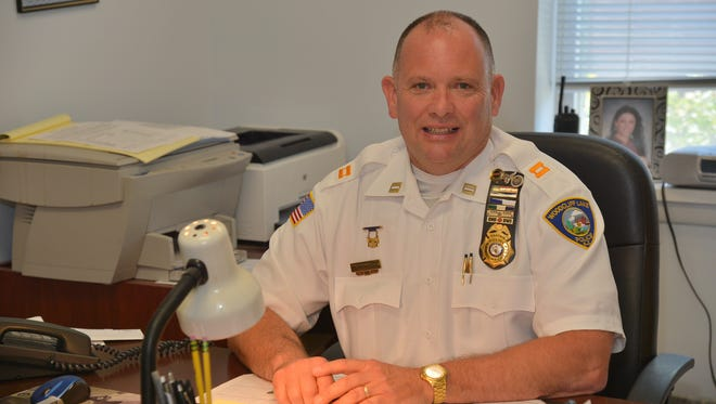 Roger Caron, a former Woodcliff Lake Police officer, is now a Class III Special Law Enforcement Officer at Pascack Hills High School in Montvale.