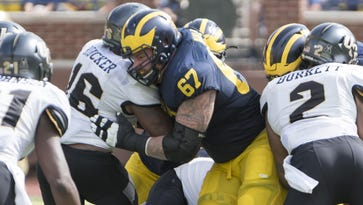 Michigan's Kyle Kalis ready to show NFL teams 'what I've got'