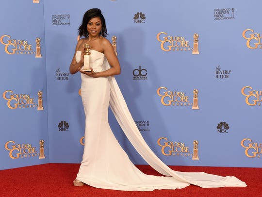 Actress Taraji P. Henson, winner of Best Performance