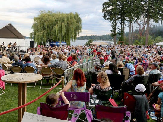 A 2016 lawn concert takes place at the Suquamish Clearwater Casino and Resort. Port Madison Enterprises is going to expand its concert offerings this summer by holding shows at the Kitsap County Fairgrounds.