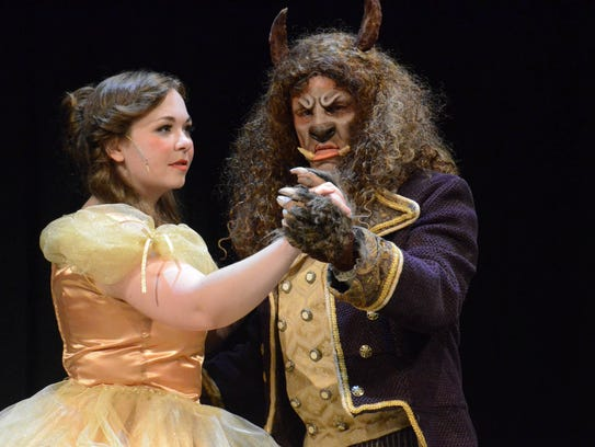"Muncie Civic Theatre's ""Beauty and the Beast."""