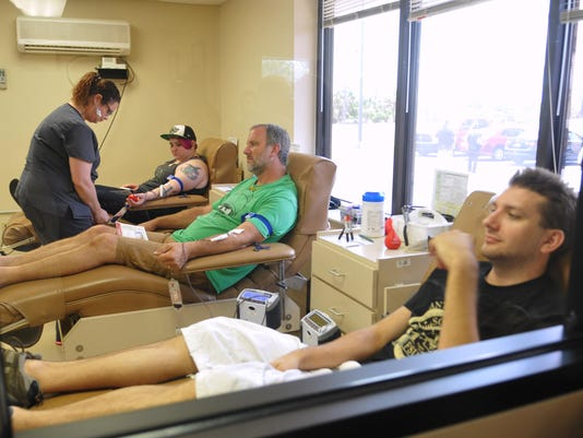 Brevard Blood Donors for Orlando
