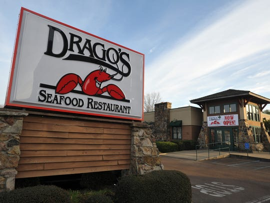 The new Drago's Restaurant on County Line Road in Jackson