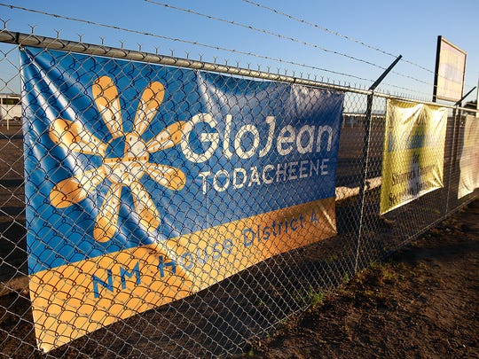 Democrat GloJean Todacheene is hoping to unseat incumbent Sharon Clahchischilliage in the race for the District 4 seat in the state House of Representatives, and both candidates are raising relatively large amounts of money.