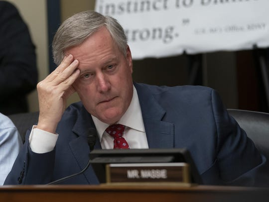 Rep. Mark Meadows, R-N.C., leads objections to testimony