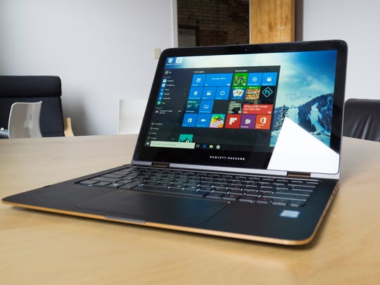 The 13-inch Spectre X360 looks dashing in this ash