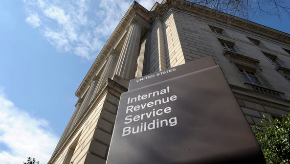 File photo taken in 2013 show the exterior of the IRS