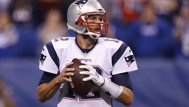 Tom Brady faces the Jets on Sunday.