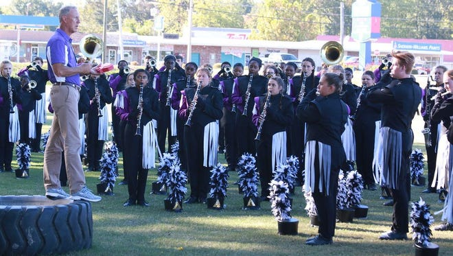 The DeSoto Central High School band will participate in this year's St. Patrick's Day Parade in New York City.