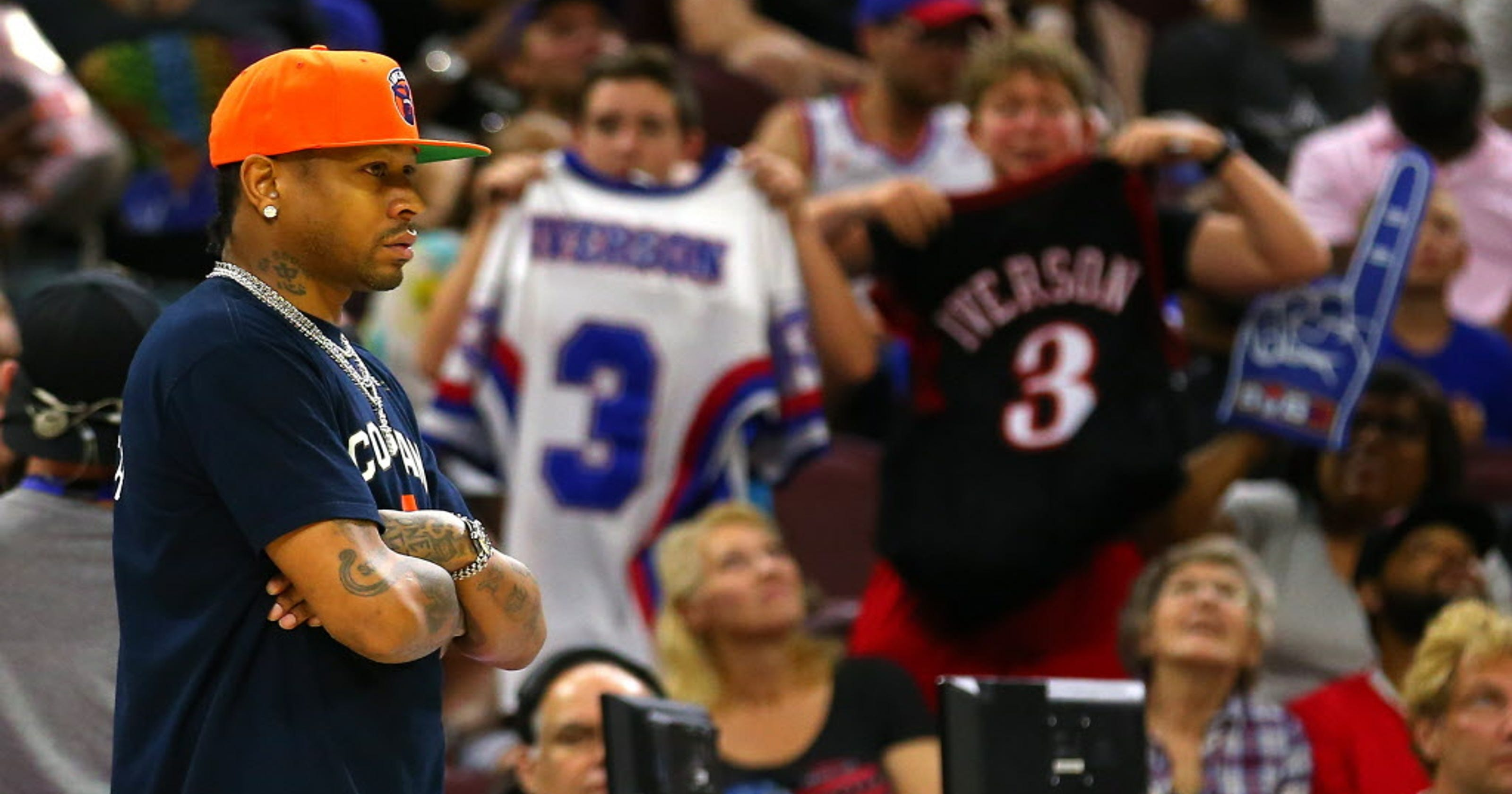 Allen Iverson s late withdrawal from playing in Big3 game lets down  Philadelphia fans 0ca556e60
