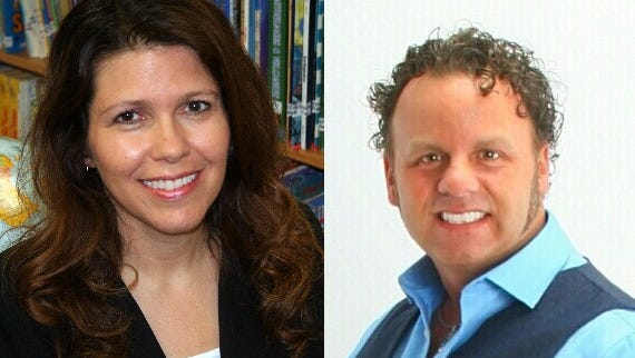 Lisa Baldwin and Chad Nesbitt