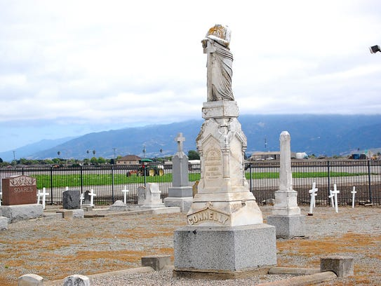 Over the last few years, the Old Calvary Cemetery Restoration