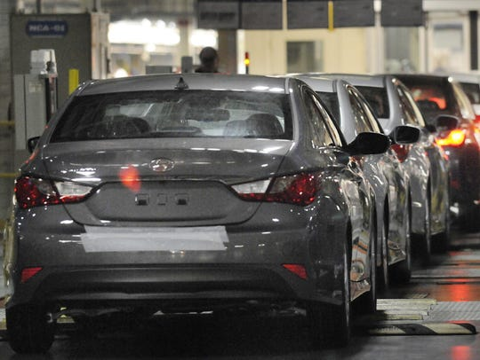 Montgomery's Hyundai plant rolled out 35,709 Elantra