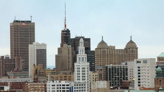 Buffalo's skyline.