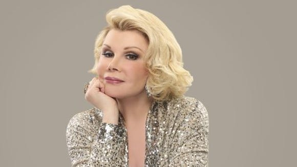 """They keep telling me I'm 80 and I think they made a mistake,"" says former Larchmont resident Joan Rivers. She will be back in Westchester for two shows at the Paramount Hudson Valley."