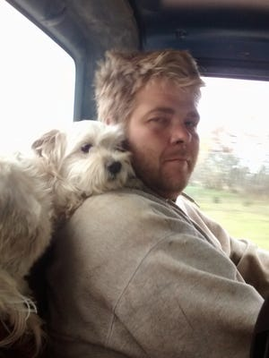 Nicholas Roddenberg, pictured with his Havanese Small Block, was killed in a two-car crash in October.