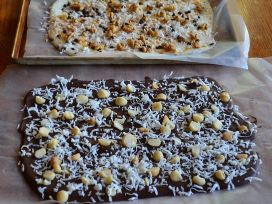 Almond bark makes a wonderful gift because it's versatile