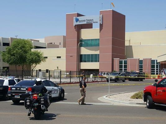 Shots fired at Mesa hospital