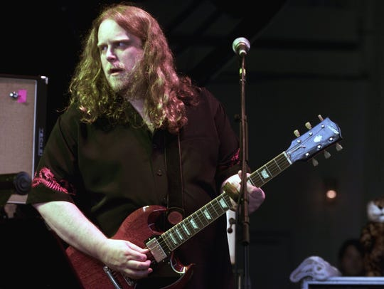 Warren Haynes of Gov't Mule, pictured in Holmdel in