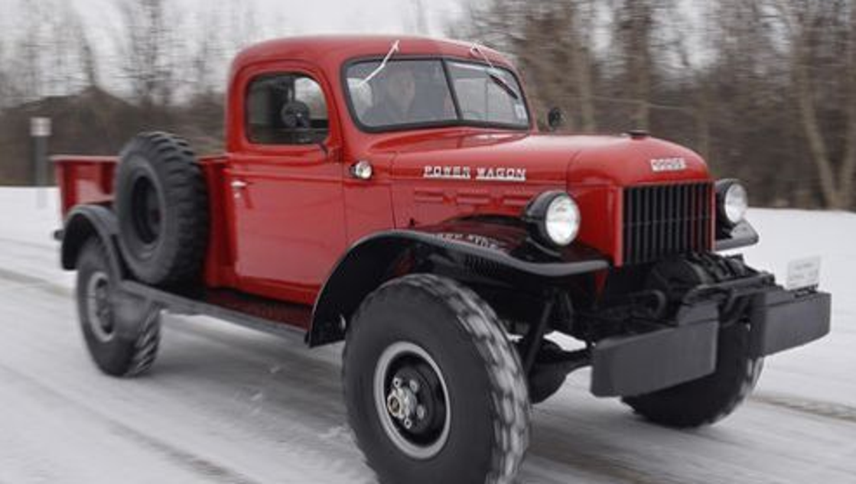 Restoring 48 Dodge Power Wagon Fulfills Wish