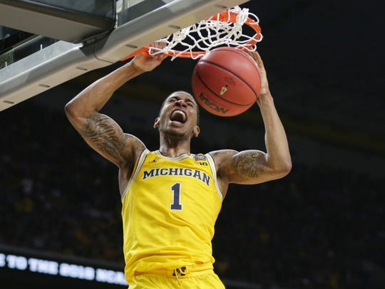 March 31, 2018 – U-M vs. Loyola-Chicago: Charles Matthews